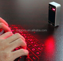Factory price Bluetooth Red Infrared Laser Projection Keyboard/bluetooth wireless keypad for new markets