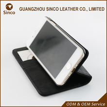 New product PU custom leather phone case and wallet with card holder and cash pocket