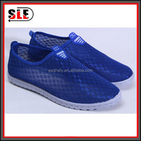 2016 breathable net mesh old man women senior people casual shoes