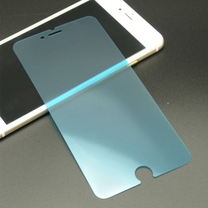 Japanese blue film anti fingerprint screen protector 0.1mm screen protector for iphone 6s