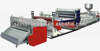 PP PE continuous foaming machine
