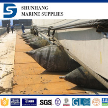 Ship moving air rubber bladder