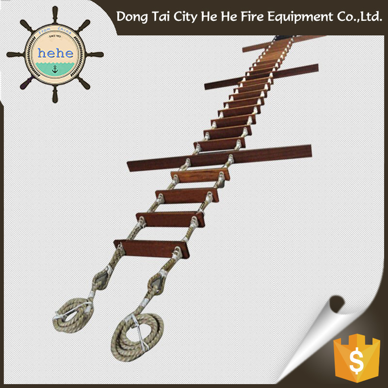 China Supply For Sale Marine Pilot Wood Step For Ladder