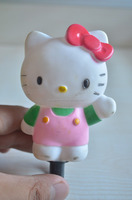 hello Kitty cartoon bicycle bell /funny small cartoon bicycle bell/bell alarm clock