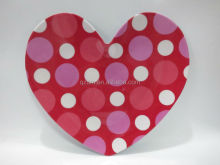 Heart-shaped Melamine Dinner plate