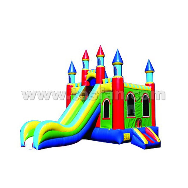Giant inflatable combo bouncer games for kids A3016