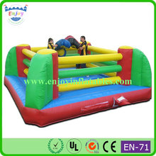 giant inflatable boxing ring with gloves, boxing arena with giant gloves and helmets, Giant boxing Glove inflatable boxing ring