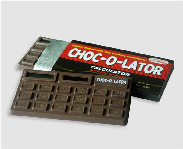 Solar Powered Standard Function Calculator