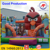 Guangzhou Airpark Attractive giant inflatable playgrounds/ inflatable water slide with pool