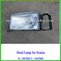High Quality Truck Head Light 1467003 1467000 suitable for Scania
