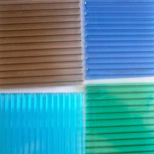 XINHAI best price polycarbonate twin wall hollow sheets