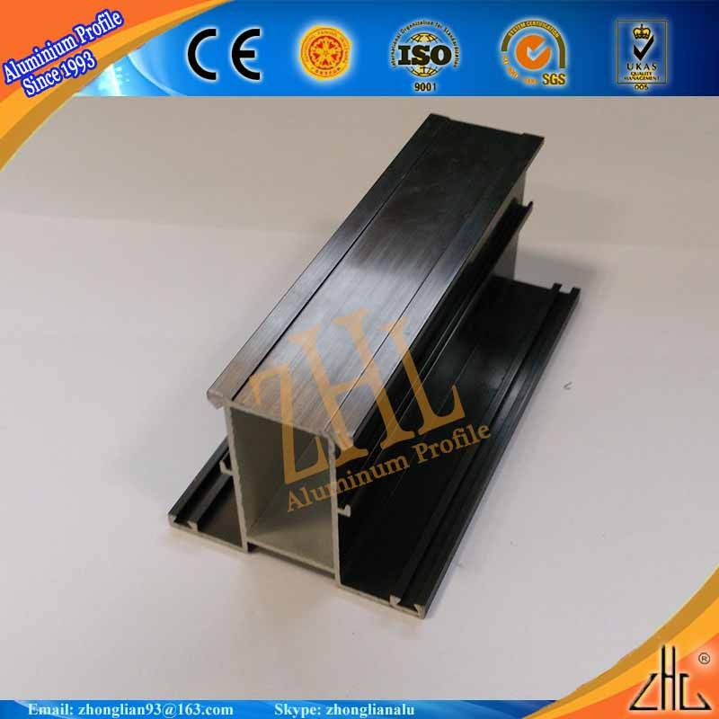 6063 t5 aluminum extruded profiles price of 1kg bronze, competitive price of aluminium sliding window