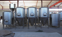 2000L conical fermenter, beer manufacturing equipment