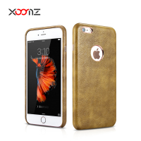 XOOMZ PU Leather Case for Apple iPhone 6 / 6s 4.7 Inch, Ultra Thin Back Cover for iPhone 6 Plus 5.5 Inch