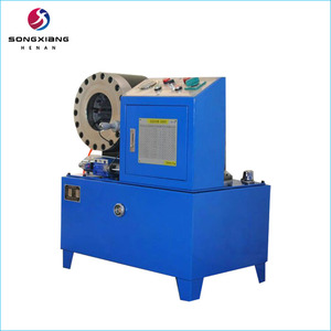 Used hydraulic hose crimping machine in China