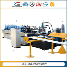 C Z Purlin Roll Forming Machine Sihua Steel C Section Metal Purlin Rolling Mill For Sale