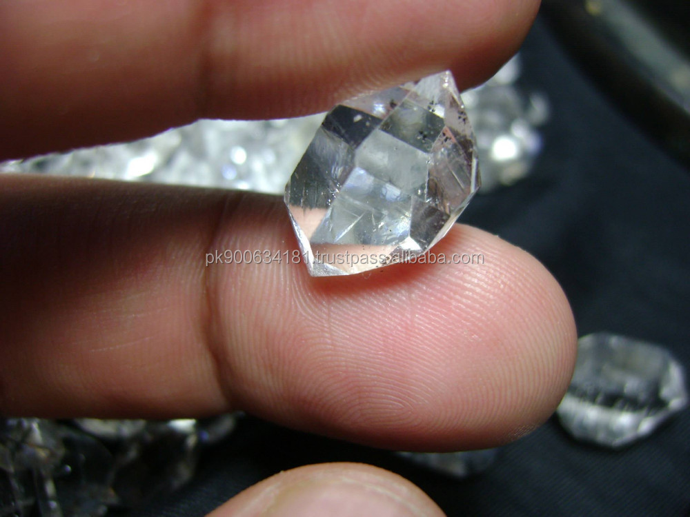Natural Rough Herkimer Diamond Quartz Crystals