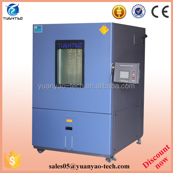 Non-linear change rate thermal test chamber for PCB