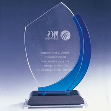 custom made glass awards manufacturer