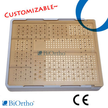 Sterilize Container Orthopedic Instruments Case for Orthopedic Implant