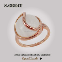 lucky stone gold big finger women rings retro agate wedding design turkish women rings