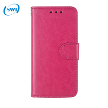 China market wholesale Universal Smart Phone Wallet Style PU Leather Case for iPhone 7