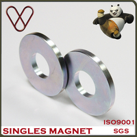 Permanent N35-N52(M, H, SH) big ring rare earth ndfeb magnets for loudspeakers