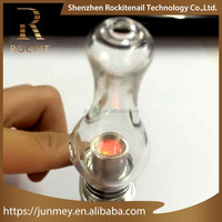 Newest Innovative e cigarette china e vape pen with titanium pipe from Rockit factory