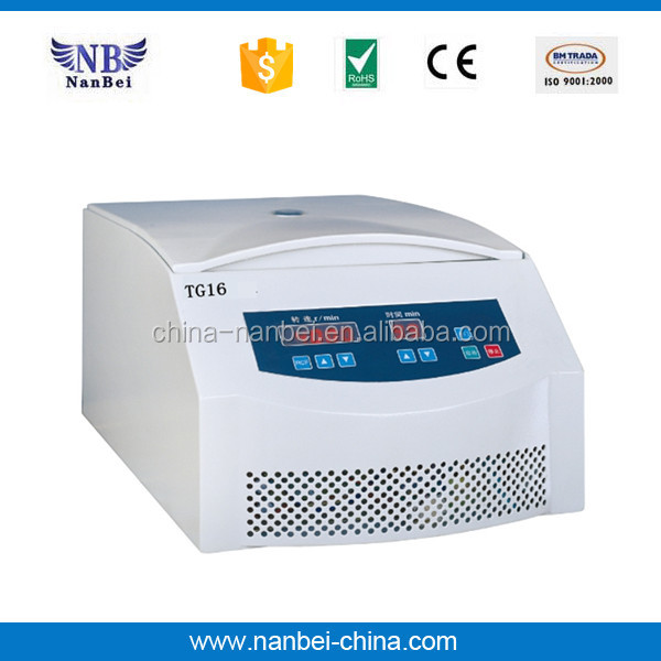 TGL16 high speed table top centrifuge