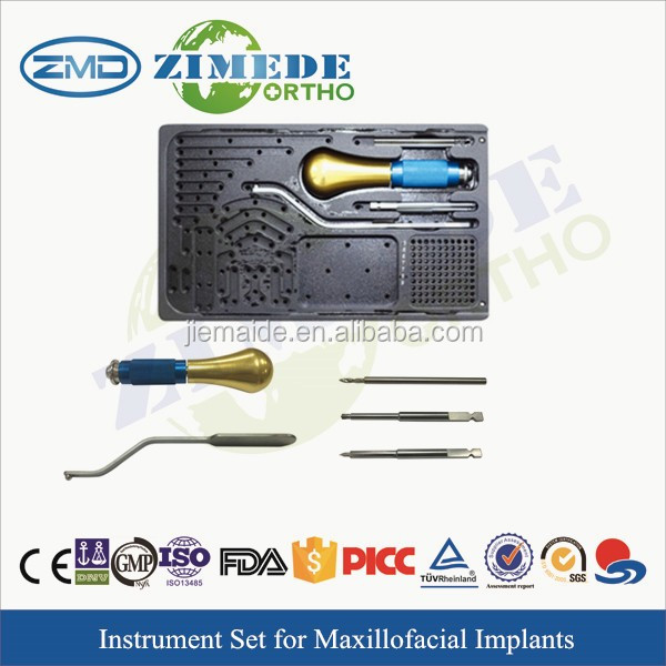 micro facial fragment orthopedic hospital equipments surgical instrument