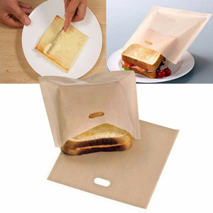 Fast Use Easy To Clean Simple Non Stick Reusable Toaster Bags