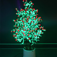 Home Garden Tree Light Flower Pot