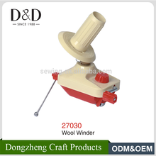 High quality home small size swift yarn ball winder with holder hand operated in TOP quality from Chinese factory