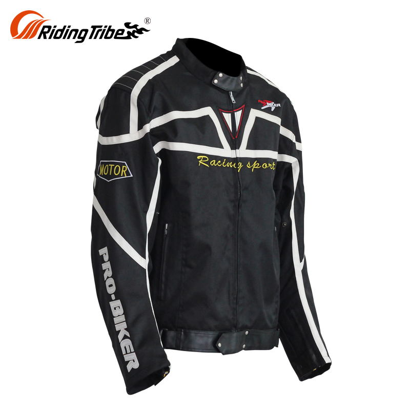 100% Tested Waterproof Riding Leather Outdoor Motorcycle Textile Armor Jacket