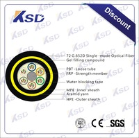 All Dielectric Self-supporting Aerial Customized no-metaillc Adss Fiber Optic Cable