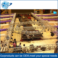 Outdoor GB/T 6892-2006 small stage lighting truss