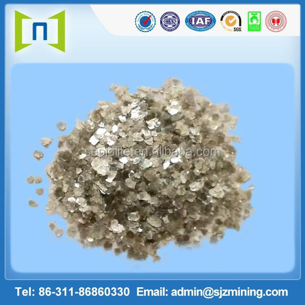 Natural raw mica rock,mica flakes