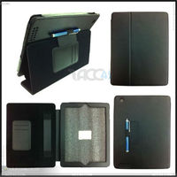 Thermal Styling Stand Wallet Leather Case with Stylus Holder for iPad 3 P-iPAD3CASE063
