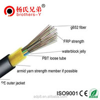 Micro 8 core adss optic fiber cable