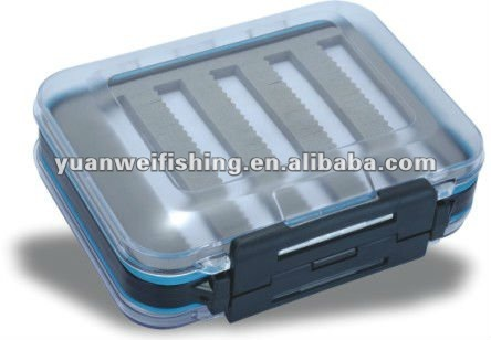 Compartment clear waterproof HB16 fly fishing boxes