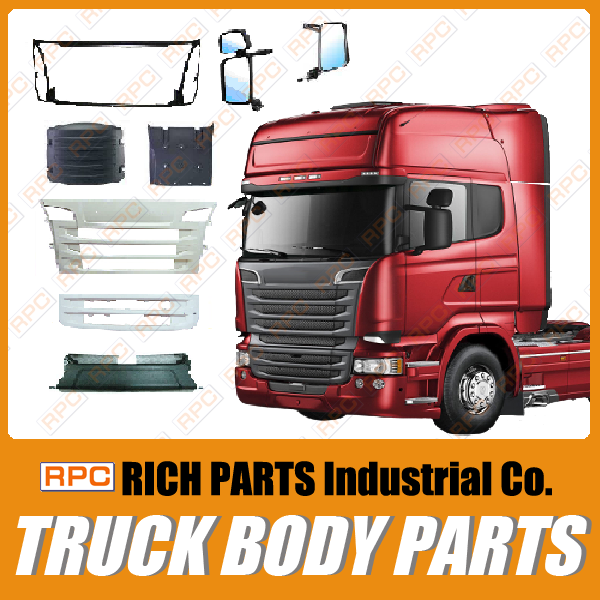 Made in Taiwan Aftermarket parts cover Iveco, Scania, Volvo, Daf, Renault, MERCEDE, Man Truck Spare Parts