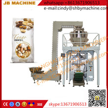 cheapest factory price With air valve applicator JB-420Z automatic mixed nuts/snack packing machine