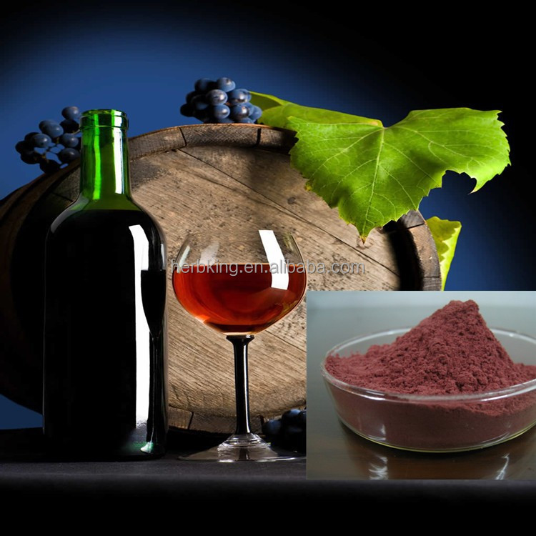 Red Wine Polyphenols 80% Antioxidant and Anti-Aging