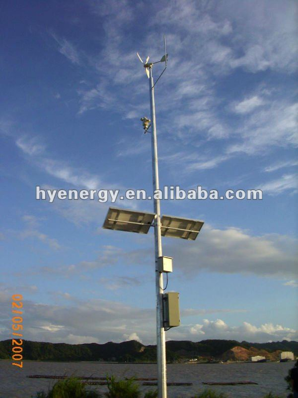 wind solar hybrid power system for road camera highway camera