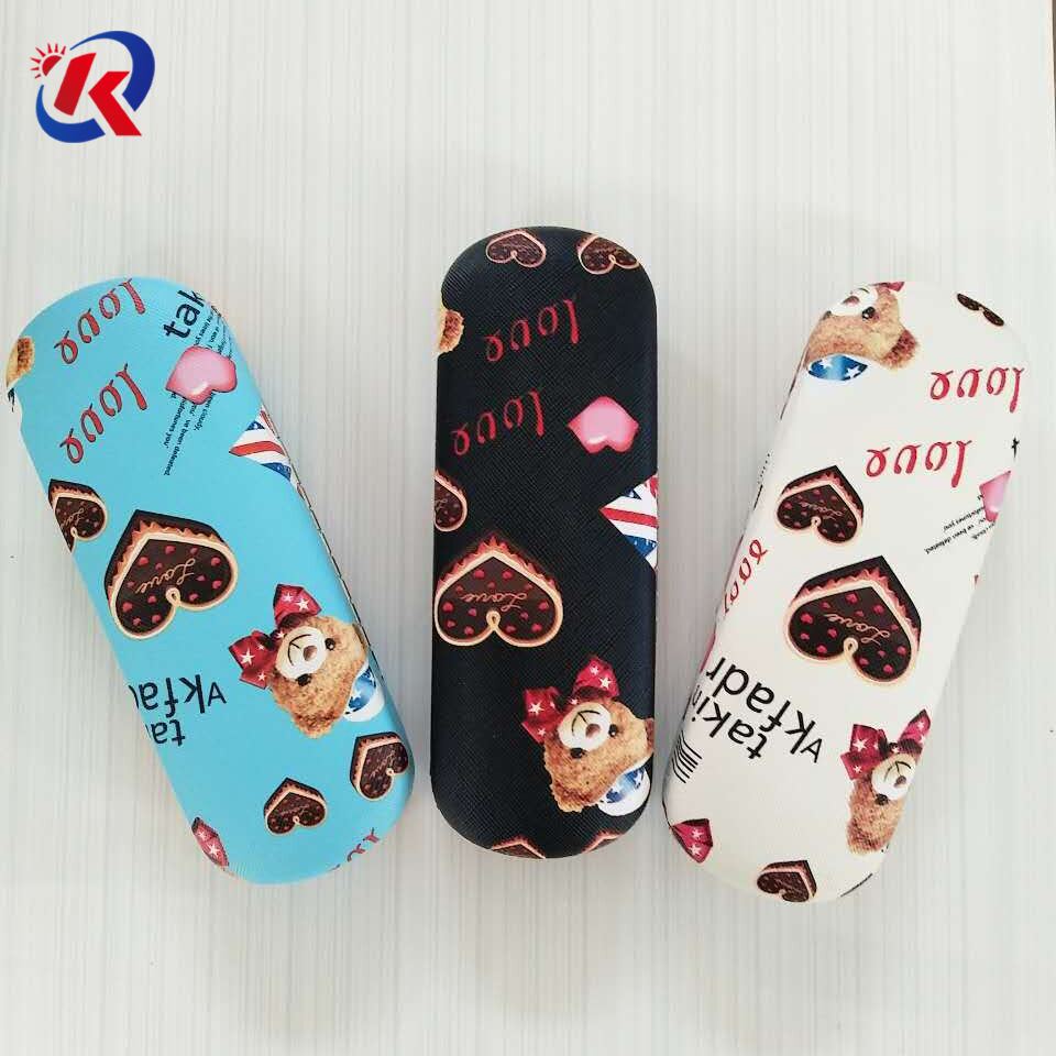 wholesale metal glasses case with custom printing