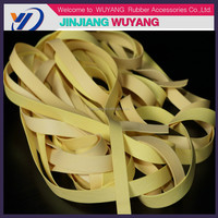 2016 wholesale rubber belt rubber bands wide elastic bands in quanzhou