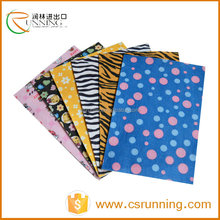 Normal colors felt woven textured polyester fabric