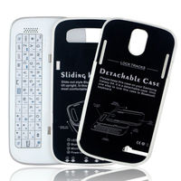 Bluetooth Keyboard for Samsung Galaxy S4 i9500 Sliding Case