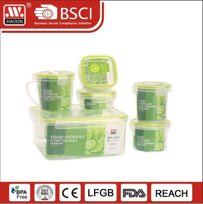 Household plastic disposable compartment food storage container take away pp plastic lunch box