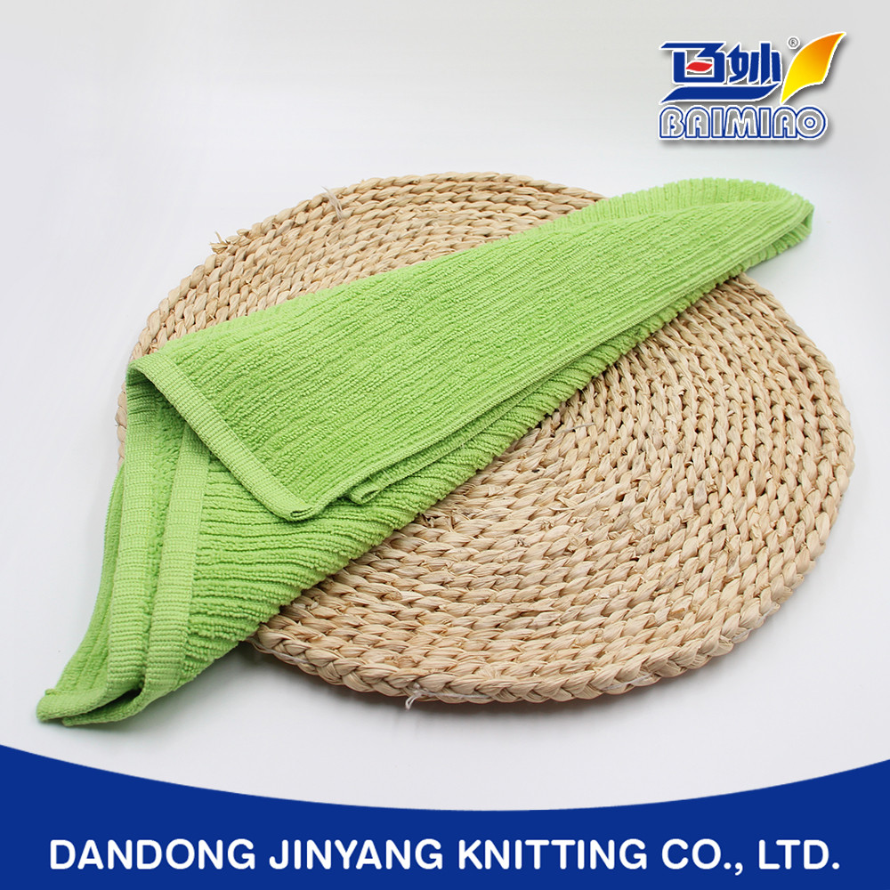 seats cleaning customized colorful skin harmless striated microfiber towel fabric roll